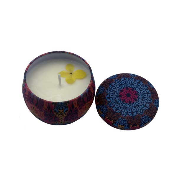 Chamomile essential oil coconut wax candle for baby, pregnant women